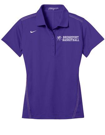 Custom shirts nike golf ladies dri fit sport swoosh pique for Custom nike golf shirts