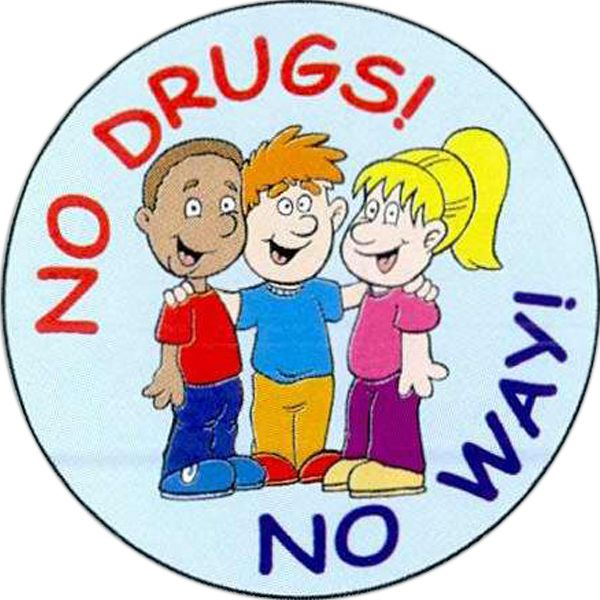 Main Product Image for No Drugs No Way Sticker Rolls