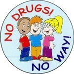 No Drugs No Way Sticker Rolls -