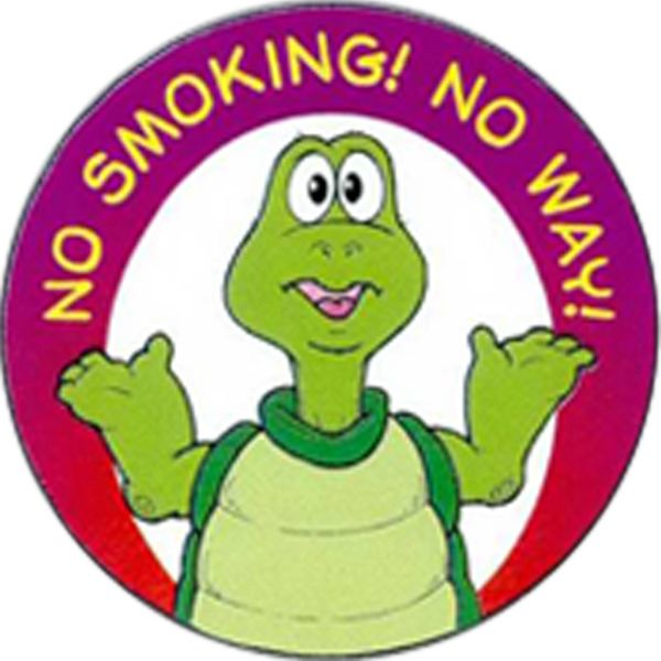 Main Product Image for No Smoking No Way Sticker Rolls
