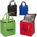 Buy Custom Imprinted Lunch Bag Non-Woven Cubic  w/ ID Slot