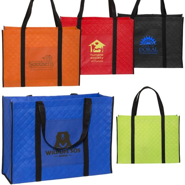 Main Product Image for Non-woven Quilted Tote Bag