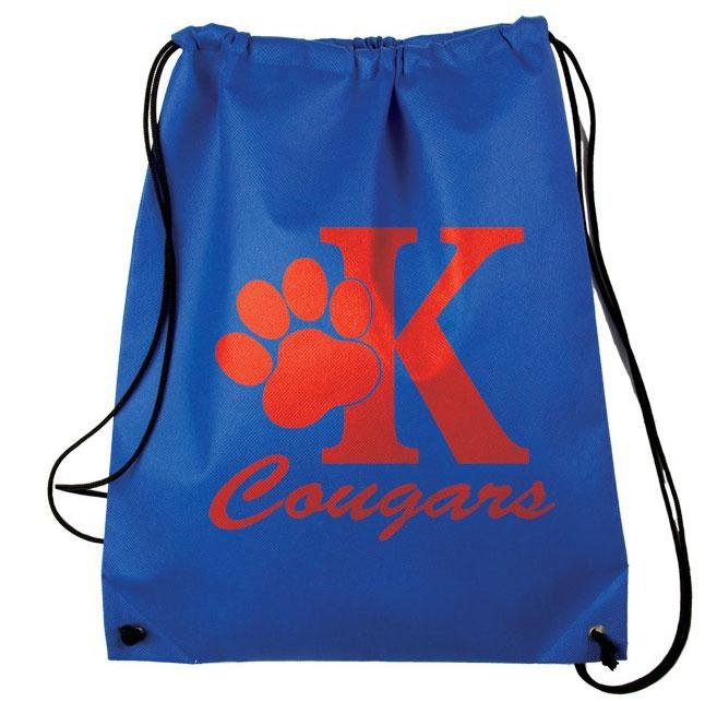 Main Product Image for Custom Imprinted Drawstring Backpack Nonwoven 15inx18in