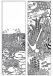 Oceans Coloring Bookmark - Standard