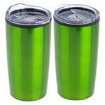 Olympus 20 oz. Stainless Steel/PP Tumbler - Metallic Green