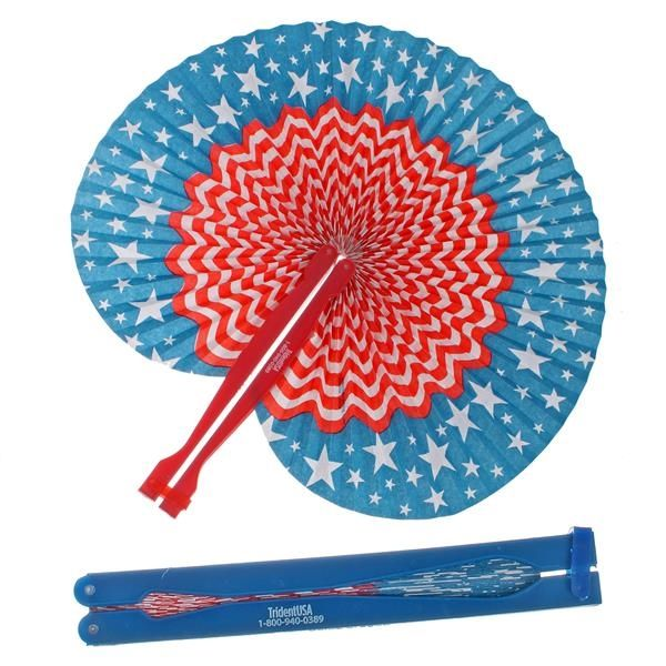 Main Product Image for Patriotic Folding Fan