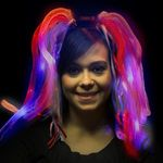 Buy Costume Patriotic LED Light Up Costume Diva Dreads (TM)
