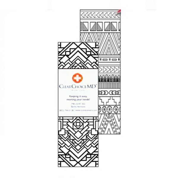 Main Product Image for Patterns Coloring Bookmark