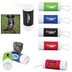 Buy Custom Imprinted Pet Waste Bag Dispenser w/ Flashlight