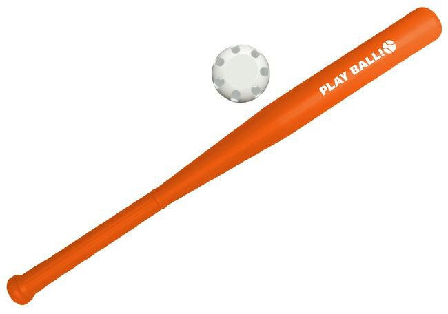 Main Product Image for Plastic Baseball Bat and Ball Set