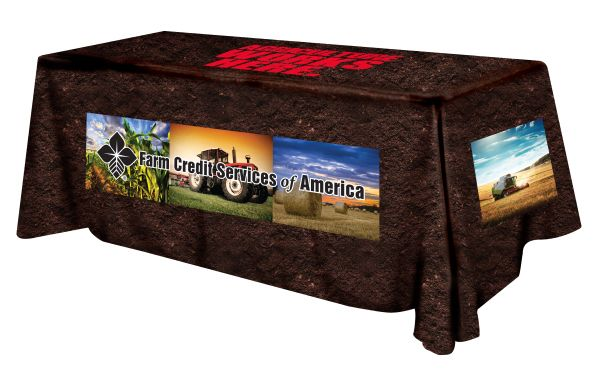 Trade Show Table Covers Full Color