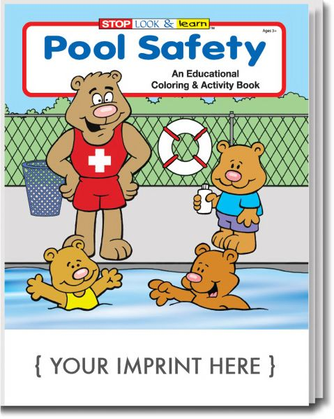 pool safety coloring pages - photo#30