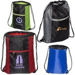 Buy Porter Collection 210D Polyester/Mesh Pattern Drawstring Bag