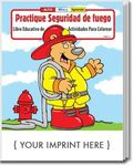 Buy Fire Safety Spanish Coloring and Activity Book