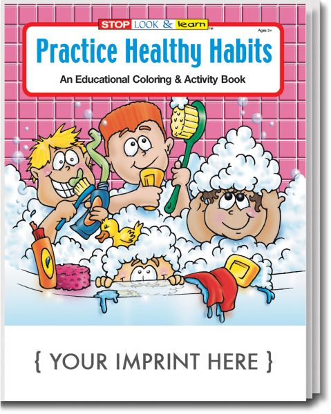 Main Product Image for Practice Healthy Habits Coloring and Activity Book