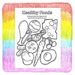 Practice Healthy Habits Coloring and Activity Book -