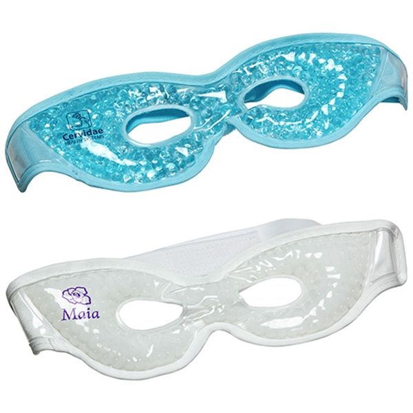Main Product Image for Premium Plush Eye Mask Aqua Pearls  (TM) Hot/Cold Pack