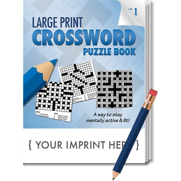 Main Product Image for PUZZLE PACK, LARGE PRINT Crossword Puzzle Set - Volume 1