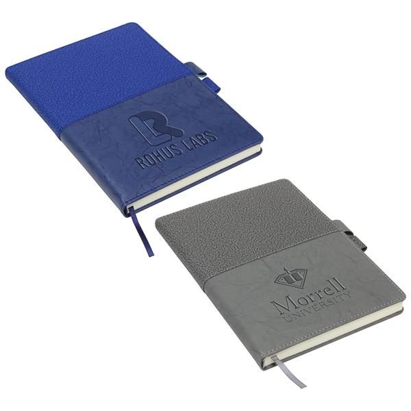 Main Product Image for Quarry Textured Journal with Interlocking Pen Closure