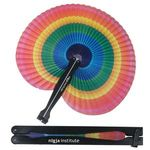 Buy Rainbow Folding Fan