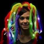 Buy Costume Rainbow LED Light Up Costume Diva Dreads (TM)
