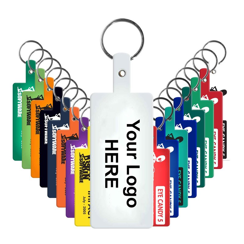 Main Product Image for Rectangle Flexible Key Tag
