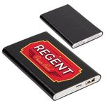 Regent 4000mAh Faux Leather Power Bank -