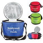 Buy Custom Imprinted Round Lunch Cooler