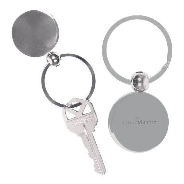 Main Product Image for Custom Imprinted Key Chain Round Metal