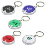Buy Custom Imprinted Key Chain with Round Simple Touch LED