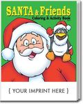 Buy Santa and Friends Coloring and Activity Book