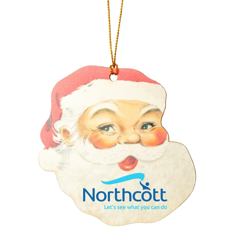 Main Product Image for Santa Ornament