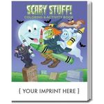 Buy Scary Stuff Coloring Book