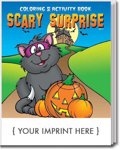 Main Product Image for Scary Surprise Coloring and Activity Book