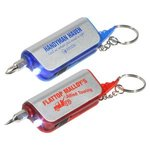 Buy Custom Imprinted Key Chain with Screwdriver Flashlight