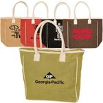 Buy Seville Jute/Canvas Tote