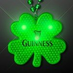 Buy Shamrock Flashing LED Necklace