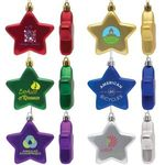 Buy Personalized Ornament Flat Star Shatter Resistant