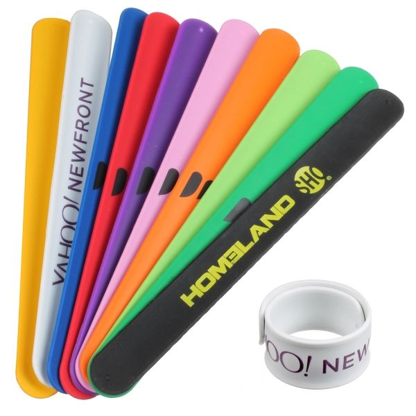 Main Product Image for Silicone Slap Bracelet