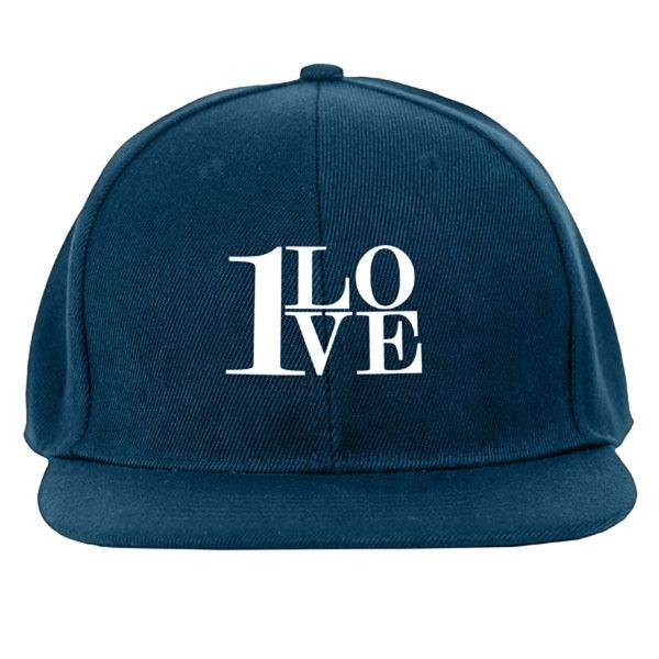 Main Product Image for Custom Cap with Snap Back Flat Bill Cap