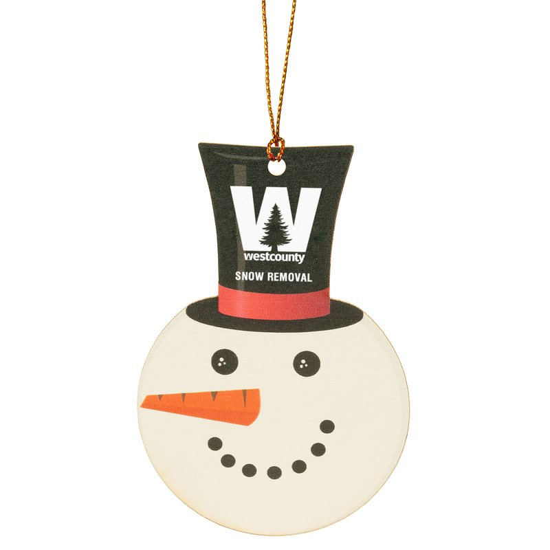 Main Product Image for Snowman Ornament