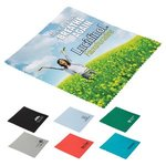 Buy Custom Imprinted Soft Touch Microfiber Cleaning Cloth
