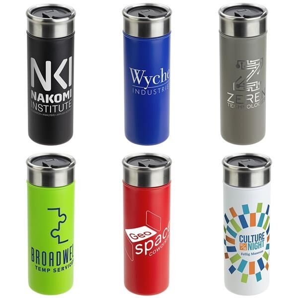 Main Product Image for Solari 18 oz Copper-Coated Powder-Coated Insulated Tumbler