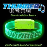 Buy Sound Activated LED Wristband - Engraved