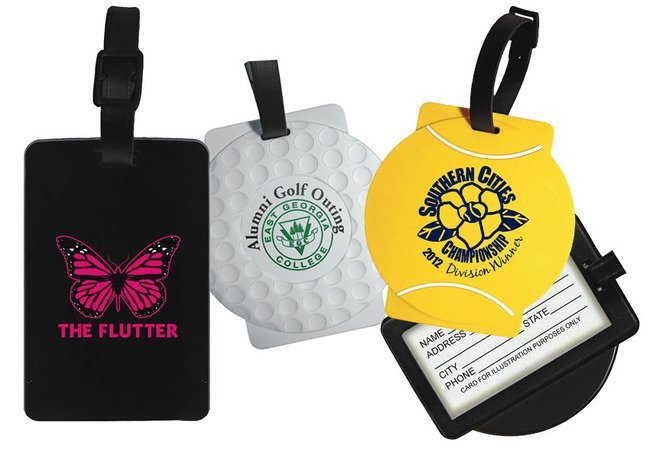 Main Product Image for Custom Imprinted Luggage Tag Sport  - Basketball