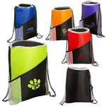 Buy Sprint Angled Drawstring Sports Pack with Pockets