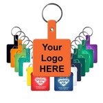 Buy Square Flexible Key Tag