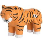 Squeezies® Jungle Tiger Stress Reliever - Orange