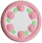 Squeezies(R) Cake Stress Reliever - White-pink
