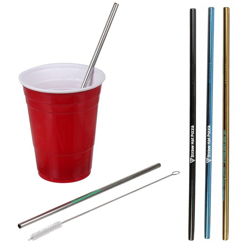Main Product Image for Stainless Steel Straw